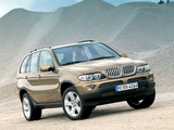 BMW X5 4.4i (E53) 2003–07 wallpapers