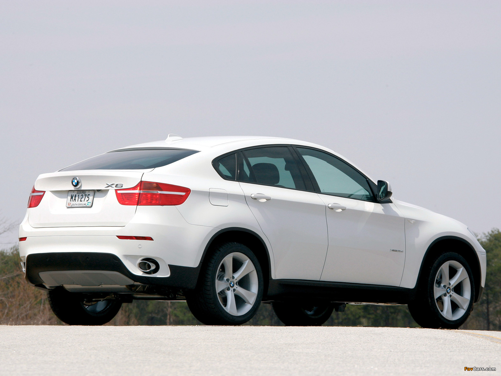 Bmw X6 Xdrive35d 71 2008 Pictures 1600x1200