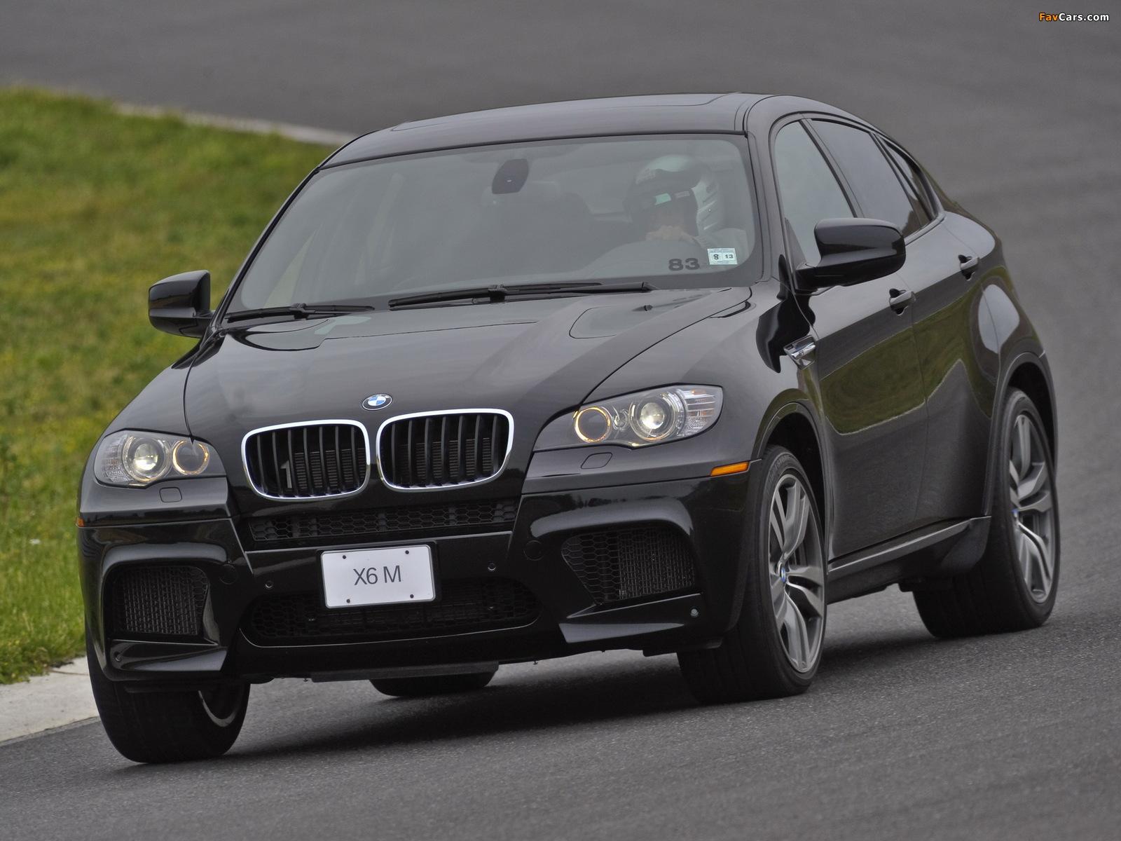 BMW X6 M US-spec (E71) 2009 photos (1600x1200)