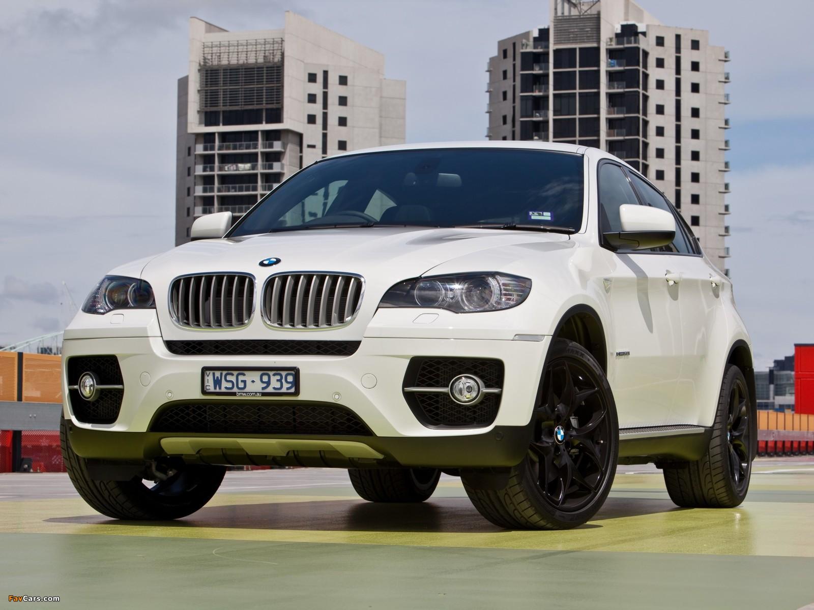 BMW X6 xDrive50i AU-spec (E71) 2009-12 photos (1600x1200)