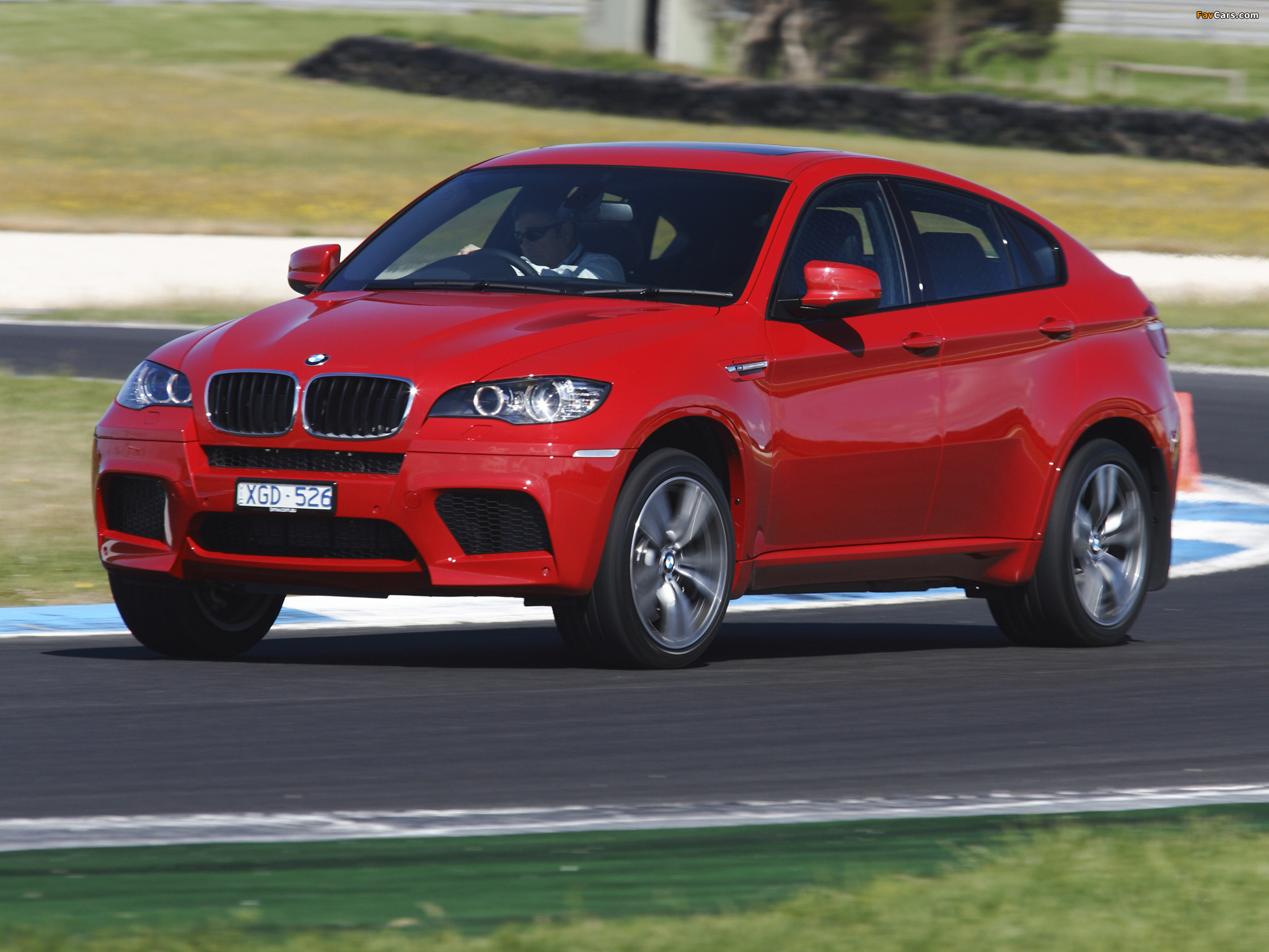 BMW X6 M AU-spec (E71) 2009 wallpapers (2048x1536)