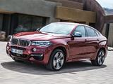 BMW X6 M50d (F16) 2014 images