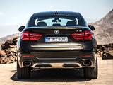 BMW X6 xDrive50i (F16) 2014 photos