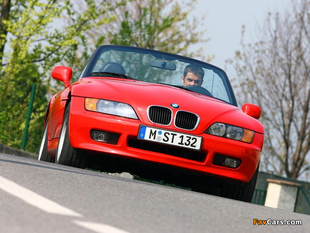 BMW Z3 Roadster (E36/7) 1995–2002 pictures (640 x 480)