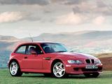 BMW Z3 M Coupe UK-spec (E36/8) 1998–2002 images
