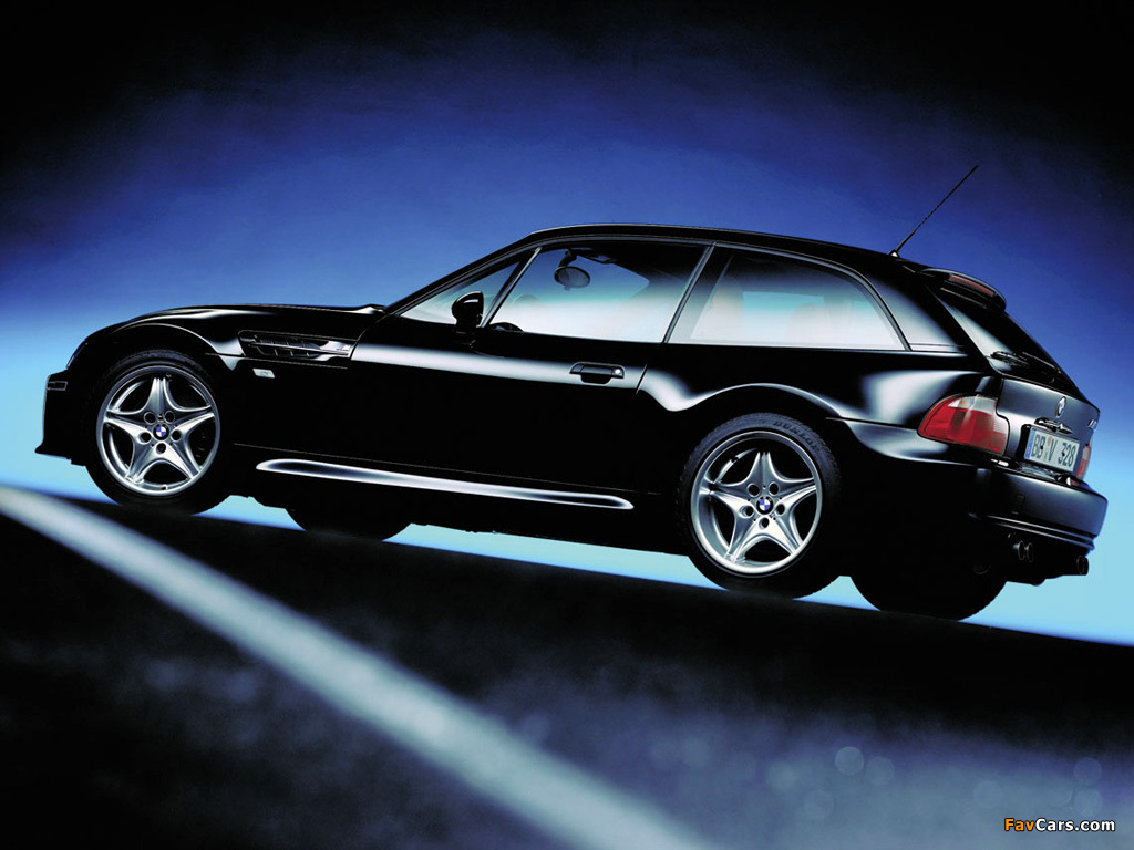Bmw Z3 M Coupe E36 8 1998 2002 Wallpapers 1024x768