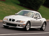 BMW Z3 2.3 Roadster (E36/8) 1999–2000 photos