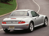 BMW Z3 2.3 Roadster (E36/8) 1999–2000 wallpapers