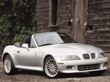 BMW Z3 3.0i Roadster US-spec (E36/7) 2000–02 photos