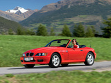 Photos of BMW Z3 Roadster (E36/7) 1995–2002