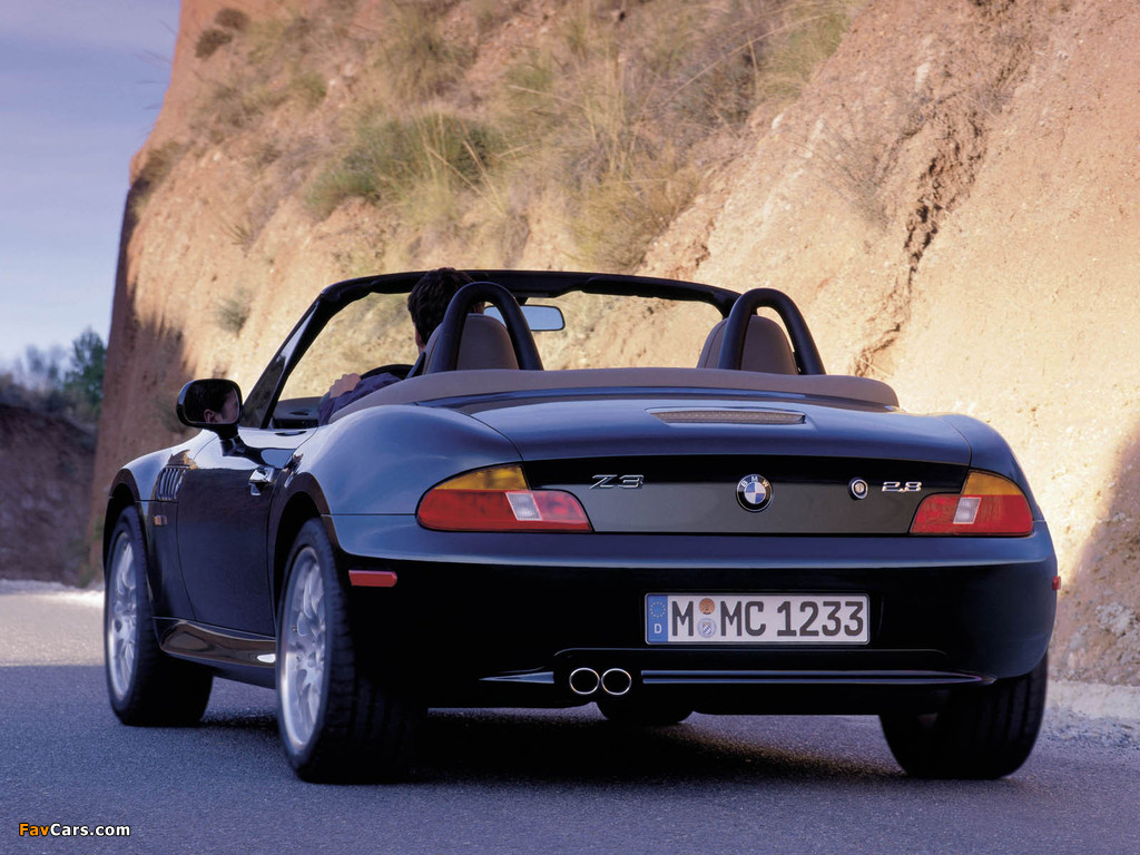 Photos Of Bmw Z3 2 8 Roadster E36 7 1997 2000 1024x768