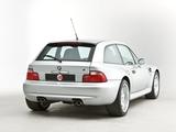 Photos of BMW Z3 M Coupe UK-spec (E36/8) 1998–2002