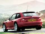 Pictures of BMW Z3 M Coupe UK-spec (E36/8) 1998–2002
