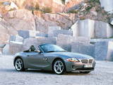 BMW Z4 3.0i Roadster (E85) 2002–05 photos
