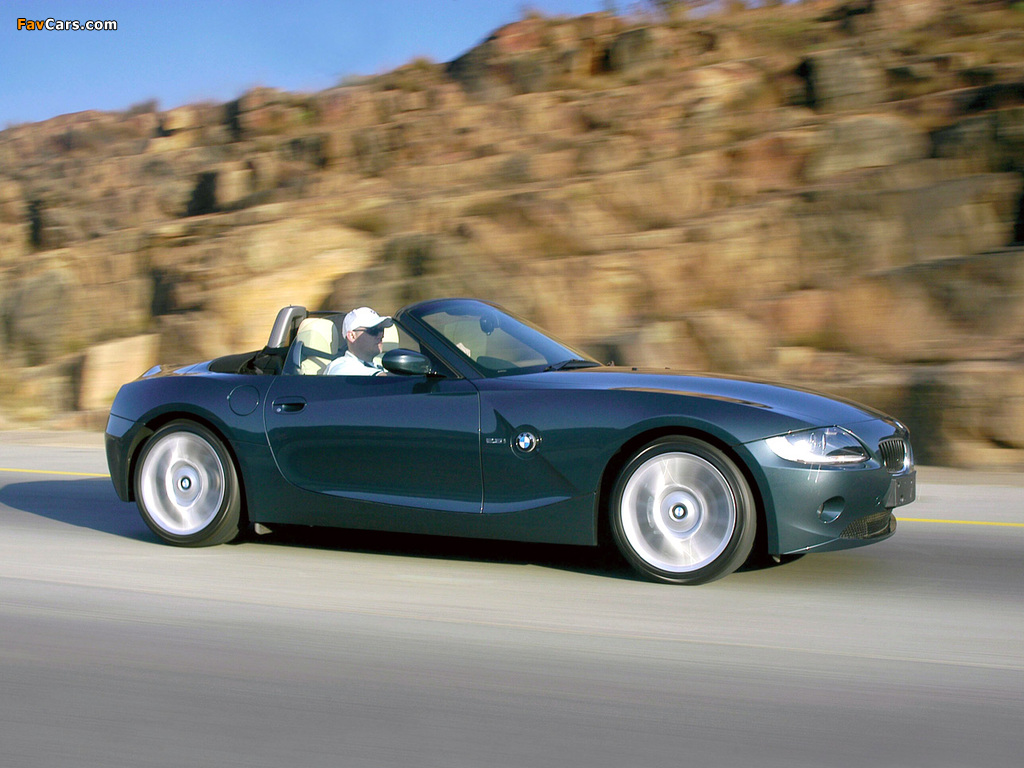 Bmw Z4 Roadster Individual E85 2004 Images 1024x768
