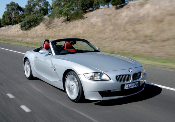 Bmw Z4 3 0si Roadster Au Spec E85 2005 09 Wallpapers