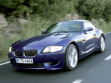 BMW Z4 M Coupe (E85) 2006–08 images