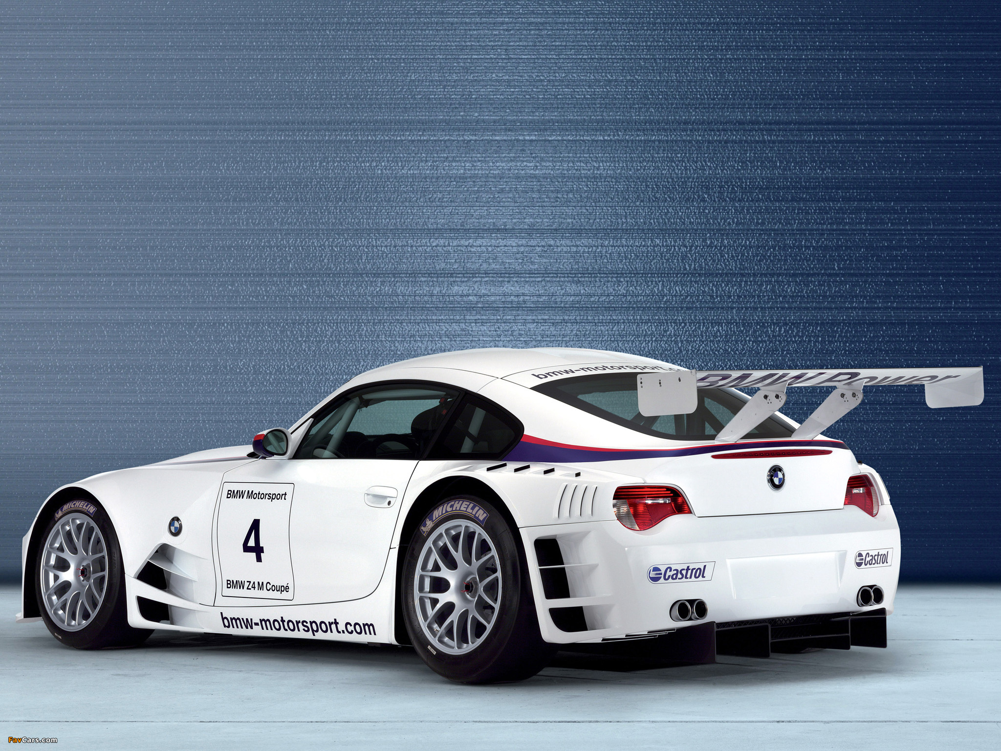 Bmw Z4 M Coupe Race Car E85 2006 09 Images 2048x1536