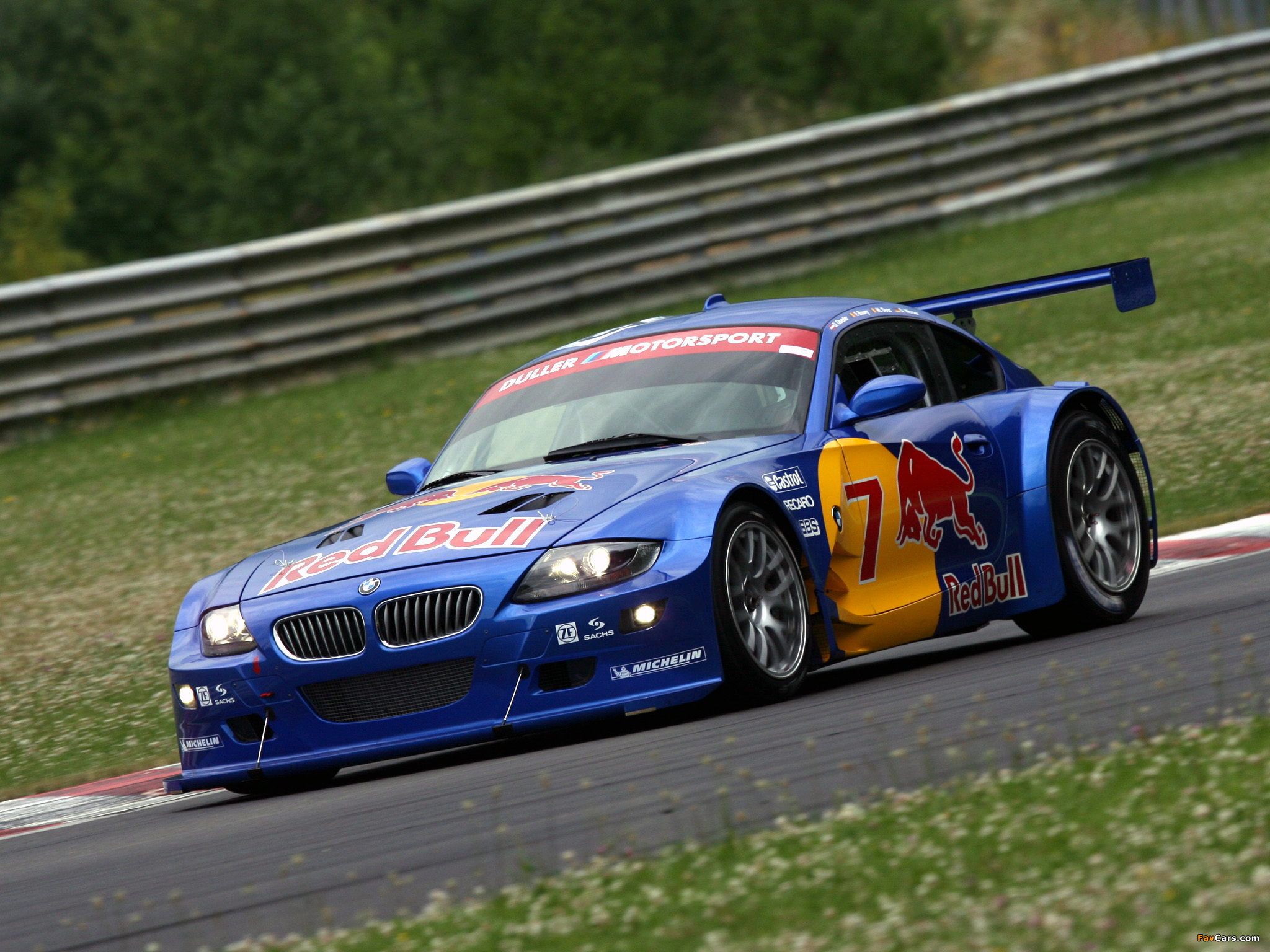 Bmw Z4 M Coupe Race Car E85 2006 09 Images 2048x1536