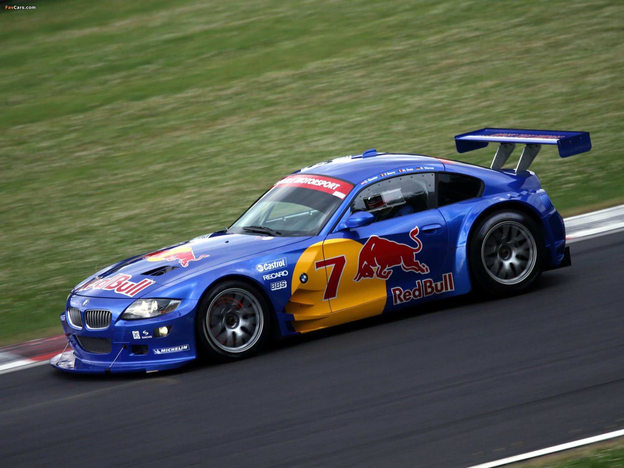 Bmw Z4 M Coupe Race Car E85 2006 09 Photos 2048x1536