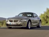 BMW Z4 Coupe (E85) 2006–09 photos
