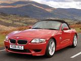 BMW Z4 M Roadster UK-spec (E85) 2006–08 photos
