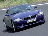 BMW Z4 M Coupe (E85) 2006–08 photos