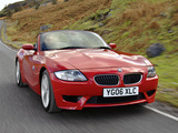 BMW Z4 M Roadster UK-spec (E85) 2006–08 pictures