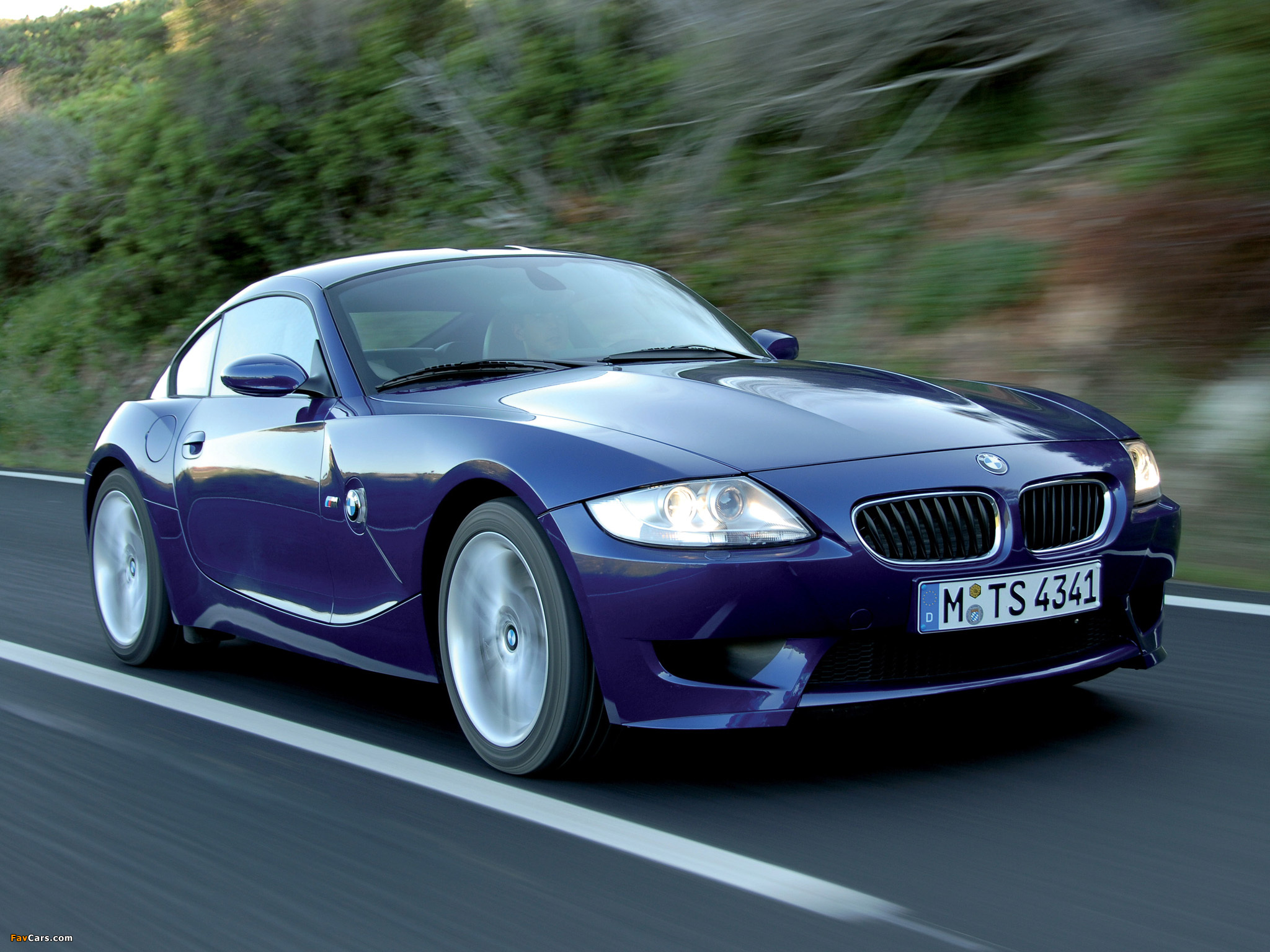 BMW Z4 M Coupe (E85) 2006–08 wallpapers (2048x1536)