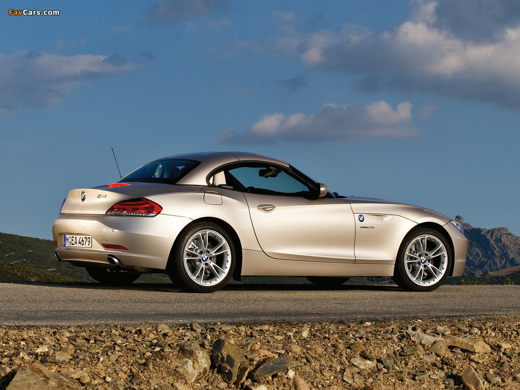BMW Z4 sDrive35i Roadster (E89) 2009 images (1024x768)