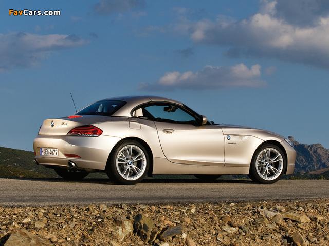 BMW Z4 sDrive35i Roadster (E89) 2009 images (640 x 480)