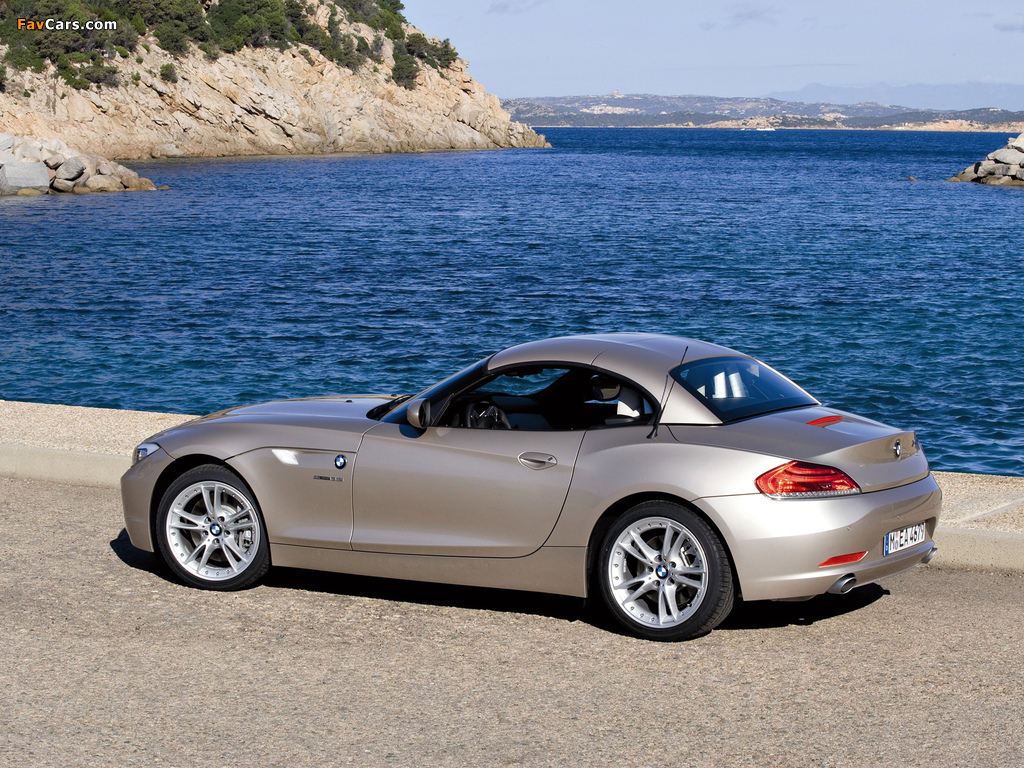 BMW Z4 sDrive35i Roadster (E89) 2009 images (1024 x 768)