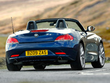 BMW Z4 sDrive35i Roadster UK-spec (E89) 2009–12 wallpapers