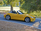 BMW Z4 sDrive28i Roadster US-spec (E89) 2011–12 pictures