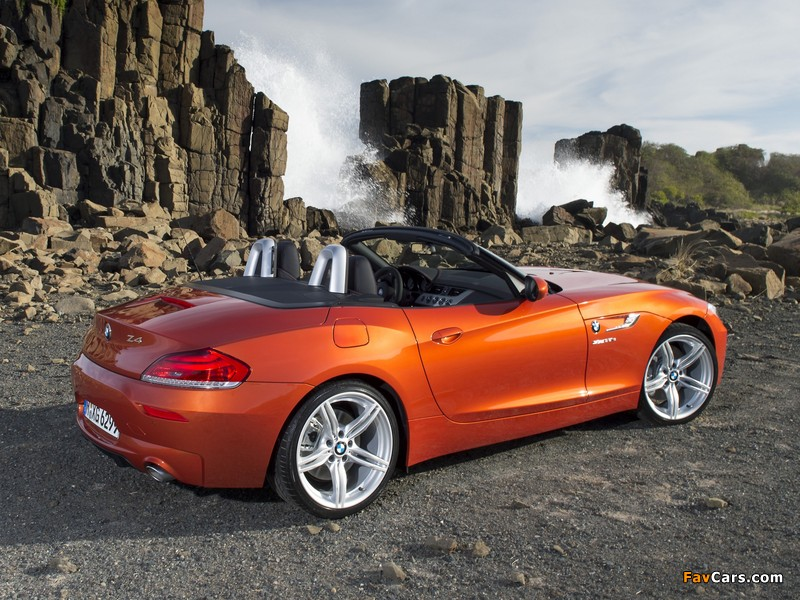 BMW Z4 sDrive35is Roadster (E89) 2012 pictures (800x600)