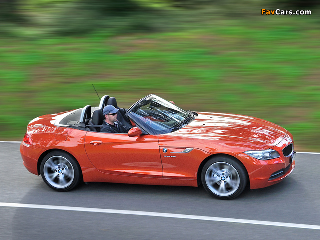 BMW Z4 sDrive28i Roadster AU-spec 2013 images (640 x 480)