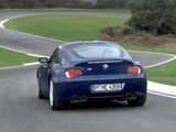 Images of BMW Z4 M Coupe (E85) 2006–08