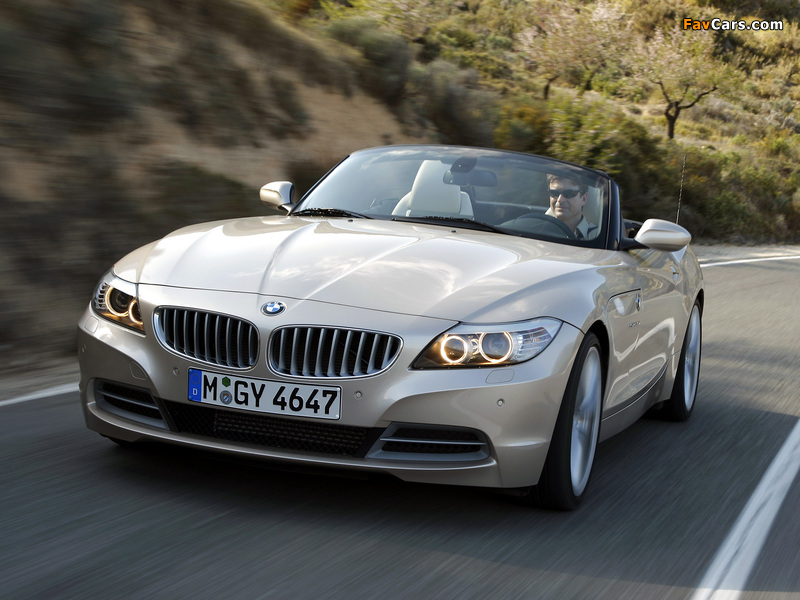 Images of BMW Z4 sDrive35i Roadster (E89) 2009 (800 x 600)