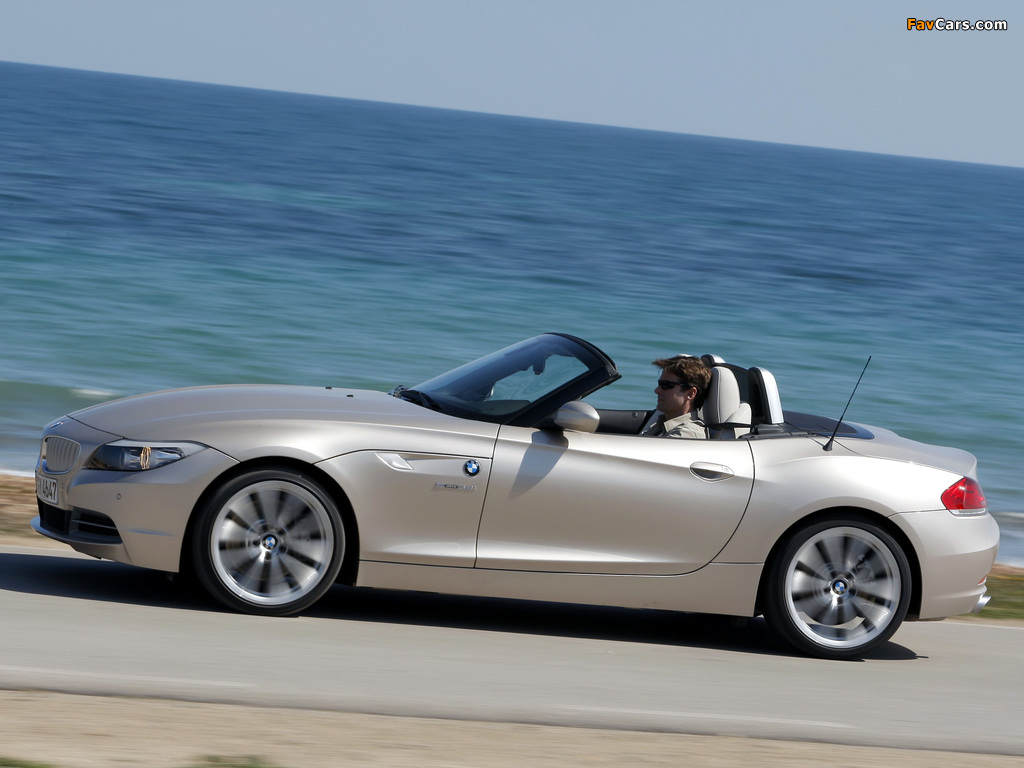 Images of BMW Z4 sDrive35i Roadster (E89) 2009 (1024 x 768)