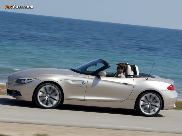 Images of BMW Z4 sDrive35i Roadster (E89) 2009 (640 x 480)
