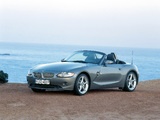 Photos of BMW Z4 3.0i Roadster (E85) 2002–05