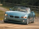Photos of BMW Z4 2.5i Roadster US-spec (E85) 2002–05