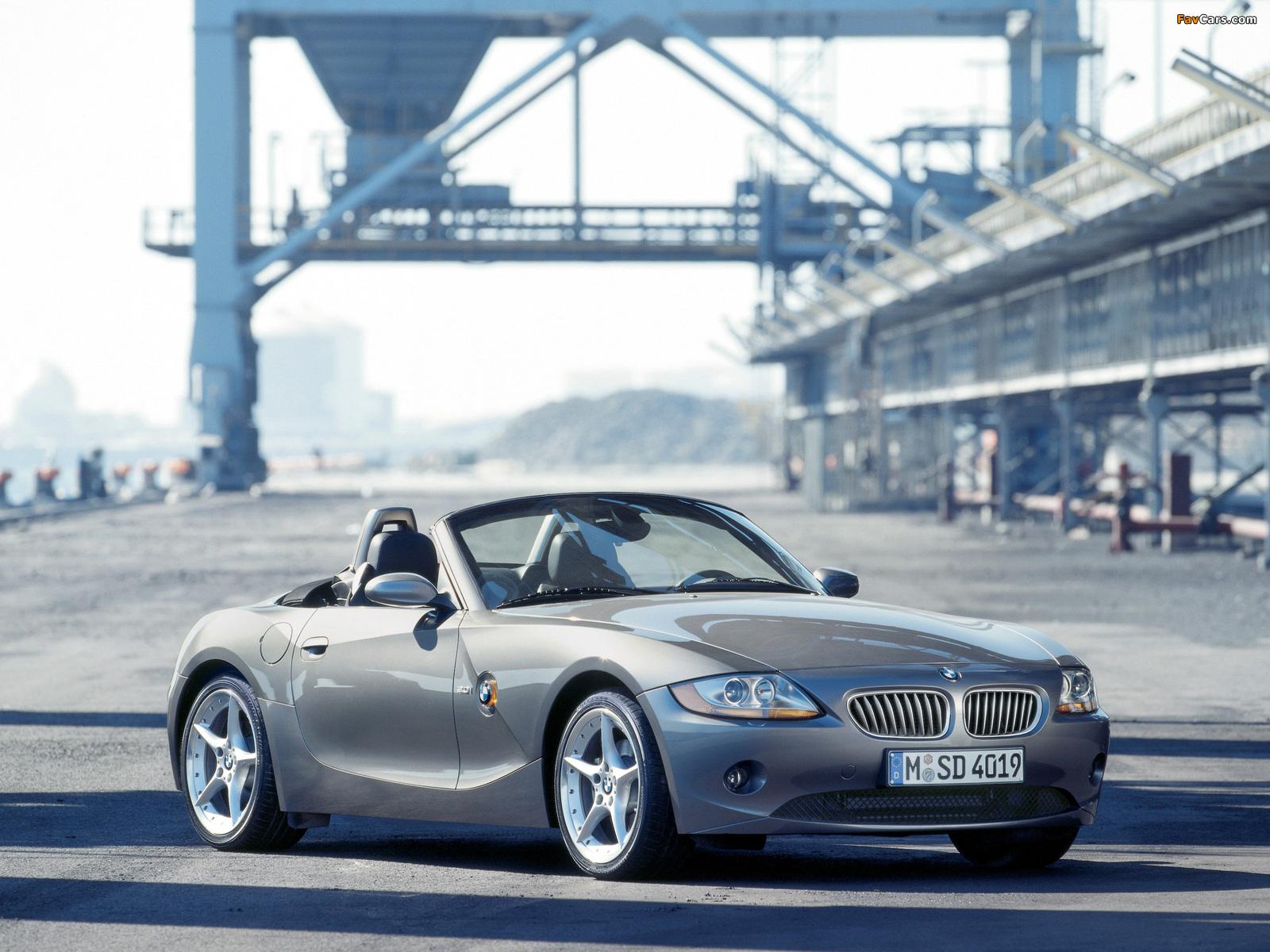 Photos of BMW Z4 3.0i Roadster (E85) 2002–05 (1600 x 1200)
