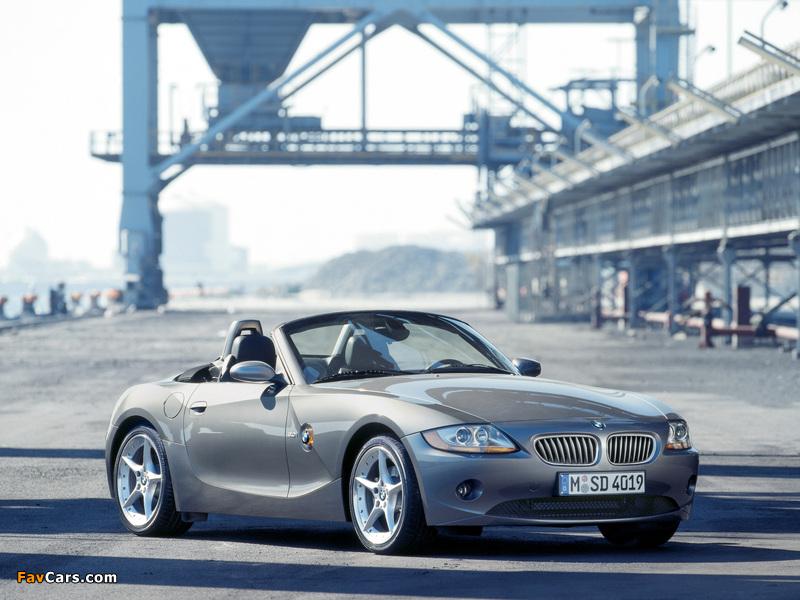 Photos of BMW Z4 3.0i Roadster (E85) 2002–05 (800 x 600)
