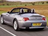 Photos of BMW Z4 2.5i Roadster UK-spec (E85) 2005–09