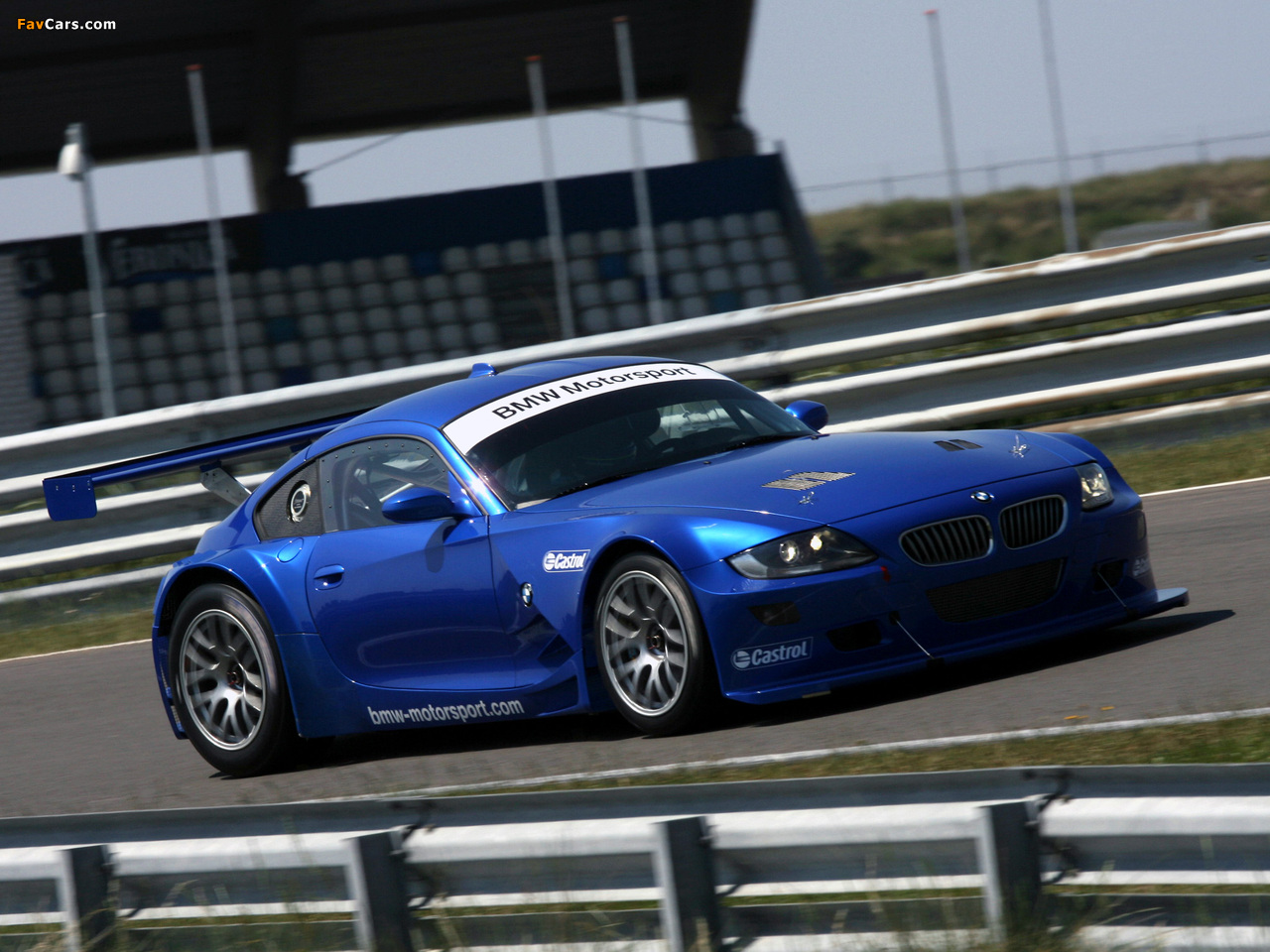 Photos Of Bmw Z4 M Coupe Race Car E85 2006 09 1280x960