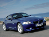 Photos of BMW Z4 M Coupe (E85) 2006–08
