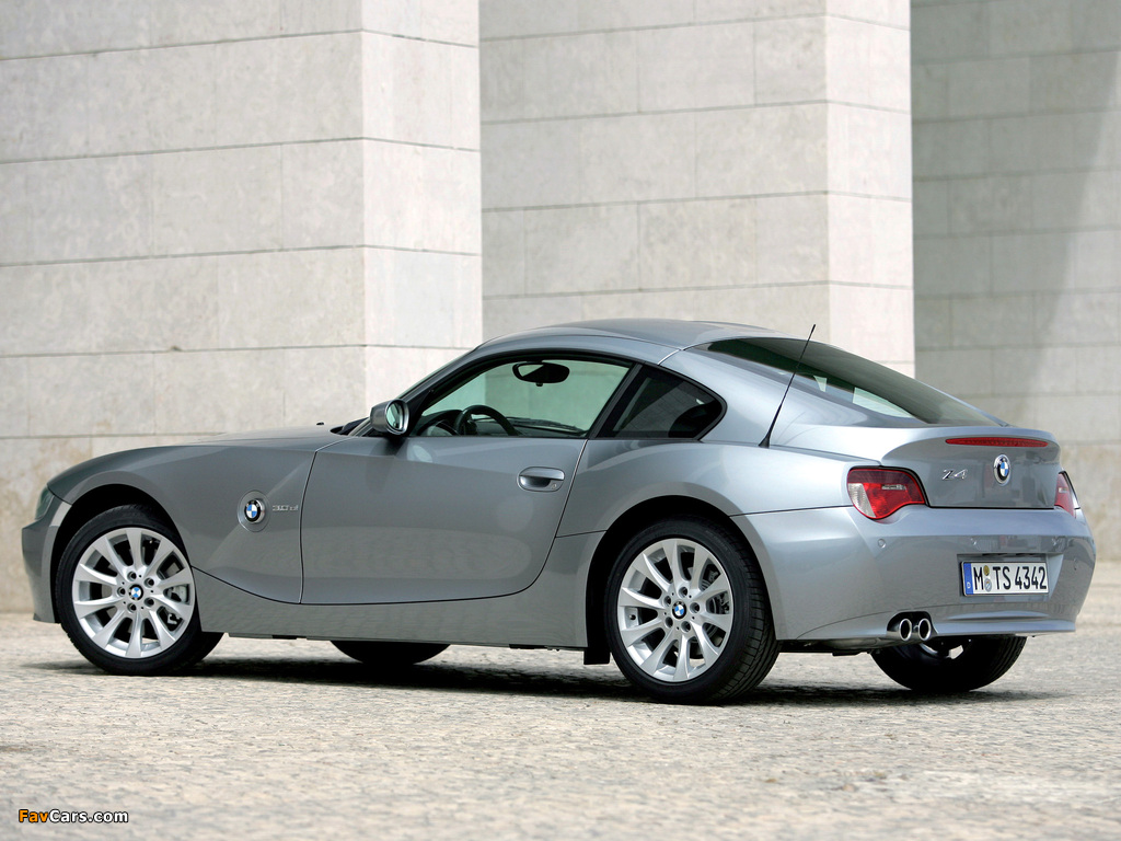 Photos Of Bmw Z4 3 0si Coupe 2006 09 1024x768