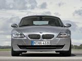 Photos of BMW Z4 Coupe (E85) 2006–09