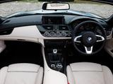Photos of BMW Z4 sDrive35i Roadster UK-spec (E89) 2009–12